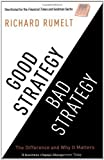 img - for Good Strategy/Bad Strategy: The difference and why it matters by Richard Rumelt (2012) Paperback book / textbook / text book