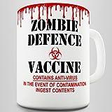 Zombie Defence Vaccine Coffee Gift Mug