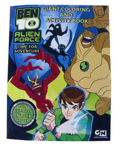 Ben 10 Coloring & Activity Book - Ben10 'Alien Force' Coloring Activity Book