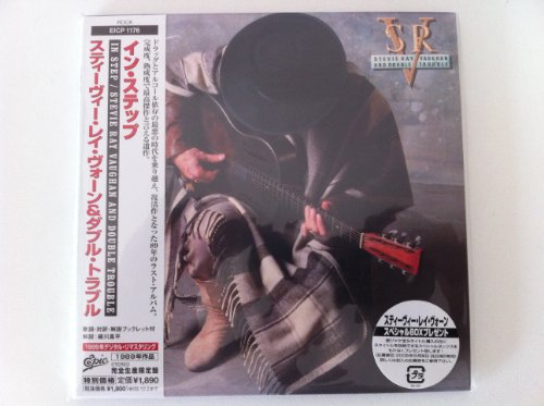 In Step [Japanese papersleeve CD EICP 1176] by Stevie Ray Vaughan