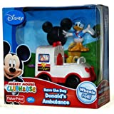 Mickey Mouse Clubhouse Save the Day Donald's Ambulance
