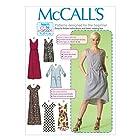 McCall's Patterns M7120 Misses' Dresses & Belt, Size ZZ (LRG-XLG-XXL)