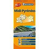 Midi-Pyrenees (Michelin Regionalkarte)