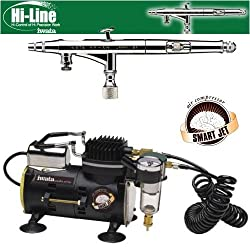 Iwata Hi-Line HP-AH Airbrushing System with Smart Jet Air Compressor