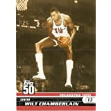 2007-08 (2008) Topps 50th Anniversary Limited Edition # 45 Wilt Chamberlain... by Topps