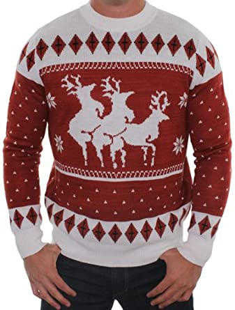 comical Christmas sweater