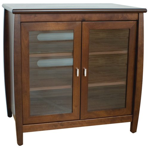 Techcraft SWD30 30-Inch Tall-Boy Credenza For Flat Panel Televisions (Walnut)