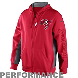 Nike Stay Warm Onfield Tampa Bay Buccaneers Jacket, Red, Medium by Nike