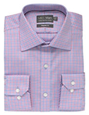 Luxury Pure Cotton Non-Iron Overchecked Shirt