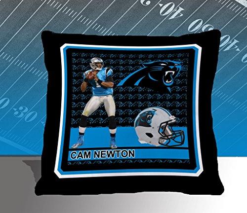 Nfl Biggshots Bedding - Carolina Panthers Cam Newton Toss Pillow, 18-Inch front-859280