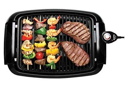 Sanyo HPS-SG2 Indoor Barbeque Grill with 120-Square-Inch Nonstick Cooking Surface by Sanyo