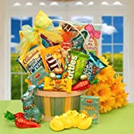 Sweet Easter Basket of Treats for Boys