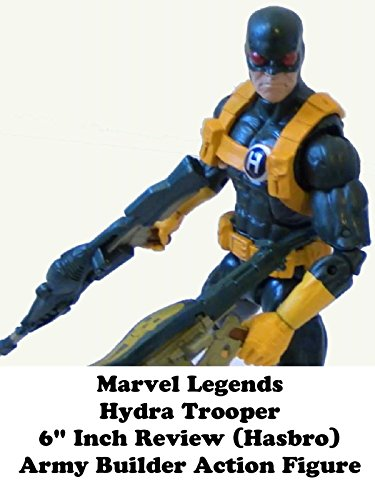 "Marvel Legends HYDRA Trooper 6"" inch action figure toy (Hasbro) army builder"