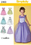 Simplicity Sewing Pattern 2463 Child's Special Occasion, BB (5-6-7-8)