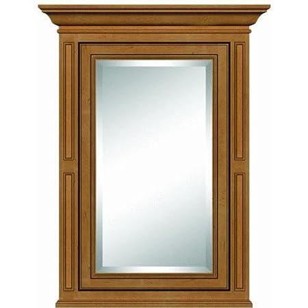 """Sunny Wood VE2635M Vintage Estate 26"""" Single Door Medicine Cabinet, Autumn Glaze"""