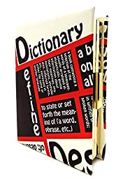 MyLux® Fashion Designer Women Dictionary Book Clutch handbag (LM0001UF)