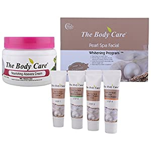 The Body Care Combo Of Pearl Spa Facial Kit + Aloevera Cream