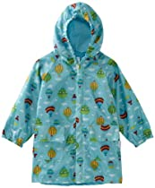 i play. Unisex-Baby Infant Lightweight Raincoat, Aqua, Small/Medium/6-12 Months