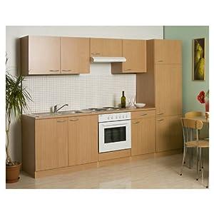 mebasa mebakb2700msl k che k chenzeile einbauk che. Black Bedroom Furniture Sets. Home Design Ideas