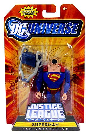 Buy Low Price Mattel DC Universe Justice League Unlimited Fan Collection Action Figure Superman Includes Phantom Zone Projector (B001JYWRC0)