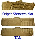 Molle Tactical Sniper Shooter Shooting Mat Carrying Bag Rifle Gun Case Tan