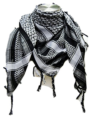 Premium Shemagh Head Neck Scarf by Tapp Collections – ** Various Colors **