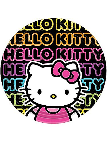Hello Kitty Party Dinner Plates- 8 Count - 1