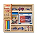 Vehicles Stamp Set - Melissa & Doug