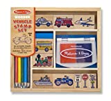 Melissa & Doug Vehicles Stamp Set