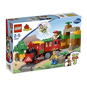 Lego Duplo Toy Story 3 The Great Train Chase