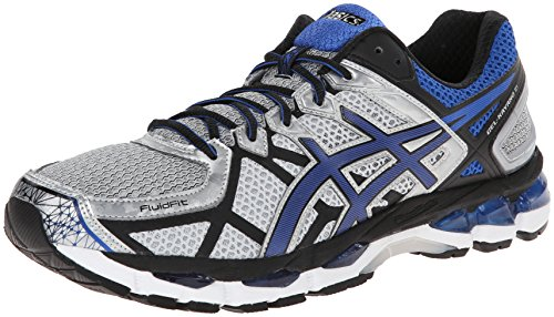 ASICS Men's Gel-Kayano 21 Running Shoe,Lightning/Royal/Black,10 M US