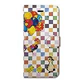 NiJiSuKe (ニジスケ) iPhone6s iPhone6 4.7 インチ 手帳型 ケース カバー 鳥's (仮) 革 / カード収納 / スタンド / スマホケース / 横開き 【 保護フィルム付 】