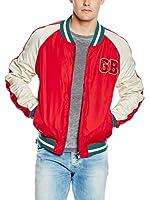 Pepe Jeans London Chaqueta Bowler (Rojo)