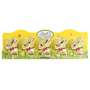 Lindt Gold Bunny Chocolate 5 Pack