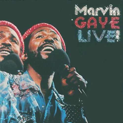 Marvin Gaye Live! artwork
