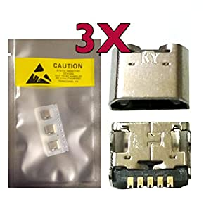 iFixZone_3 X New Micro USB Charging Sync Port Charger For LG G Pad F 8.0 Tablet USA