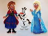 Disney 7946 - Bügelperlen Frozen Geschenk-Box 4000 Perle, mehrfarbig von Disney