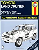 Toyota Land Cruiser FJ60  62 80   FZJ80   80 96  Haynes Manuals