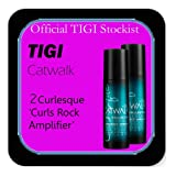 Tigi Catwalk - *Set of 2* Curlesque 'Curls Rock Amplifier' - Cream to Define & Seperate (150ml each).