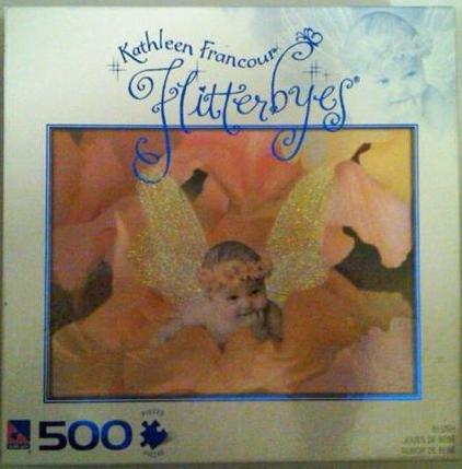 Flitterbyes - Blush 500 Piece Puzzle - 1