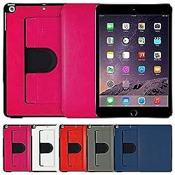 AirPlus AirCase 360 degree Portfolio Denim Finish Case for iPad Mini with Retina Display (Baby Pink)