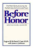 Before honor