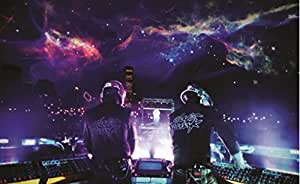Amazon.com: Idalith Burgos Daft Punk Electronic Music Star Poster HOME