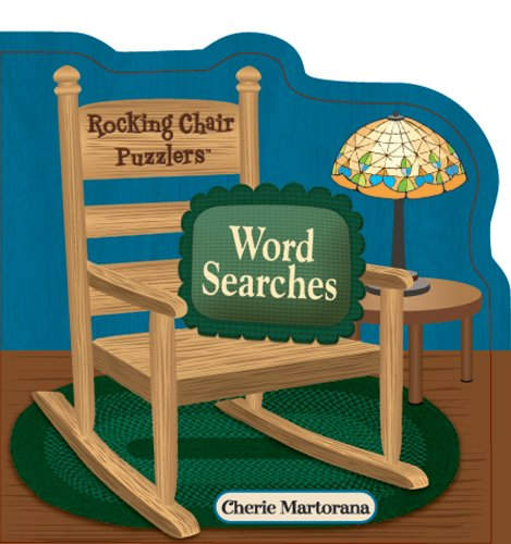 Spinner Books for Adults Rocking Chair Puzzlers Word Searches