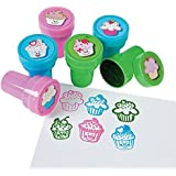 Cute Cupcake Stamps (2 dz)