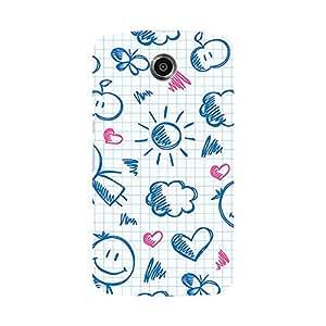 Garmor Designer Silicone Back Cover For Motorola Nexus 6
