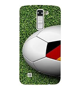 PrintVisa Sports Football Germany Design 3D Hard Polycarbonate Designer Back Case Cover for LG K10