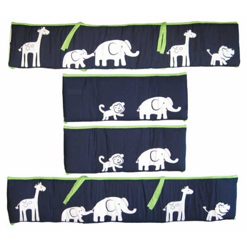 Carter'S Safari Sky All Around Bumper