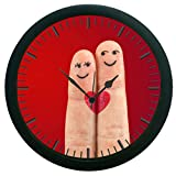 meSleep Fingers 3D Wall Clock (With Glass)