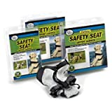 Safety Seat Support Dog Harness Color: Black, Size: Small (9.6
